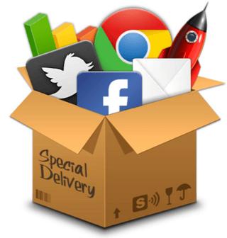 Een opeenstapeling van sociale media platformen